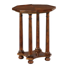 Hekman 11105 European Legacy 18-inchW Wood End Table - Rustic American Cherry