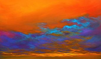 """Dance Of Angels"" By Savlen, Original Painting, 4'x3'"