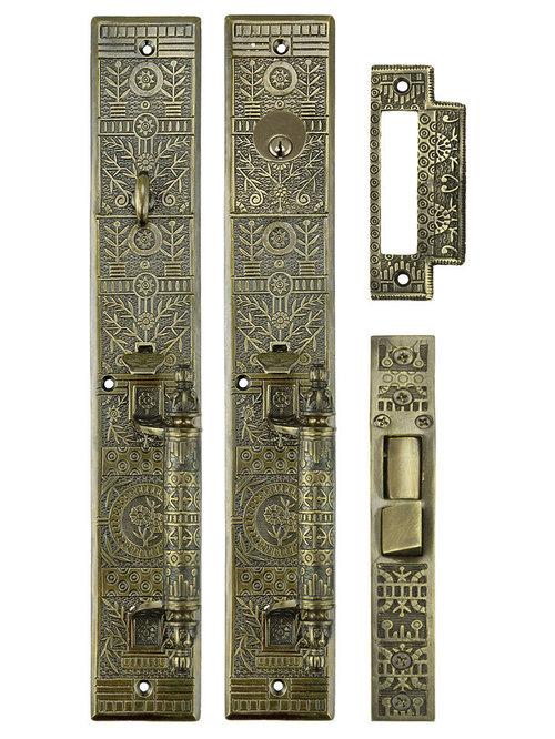 Vintage Style Door Hardware Sets   Door Hardware