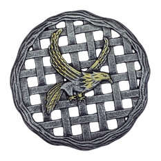 Aluminum Eagle Stepping Stone - Set of 6