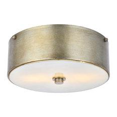50 most popular flush mount ceiling lights for 2018 houzz elegant elegant living district hazen 2 light 12 vintage silver flush mount aloadofball Choice Image