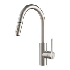 Kraus Oletto Pull-Down Kitchen Faucet, 2-Function,Spot-Free Stainless