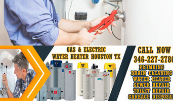 Gas & Electric Water Heater Houston TX