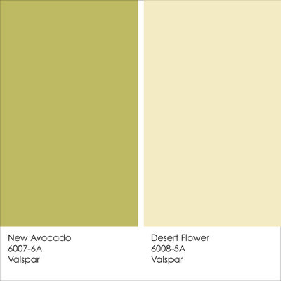 paint color ideas: 8 uplifting ways with yellow and green