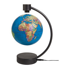 "Stellanova Levitating Globe 6"" Blue"