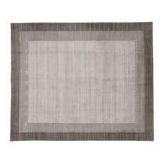 Esmaili Rugs - New, Contemporary Gabbeh Gray Area Rug with Modern Style, 08'05 x 10'00 - Area Rugs