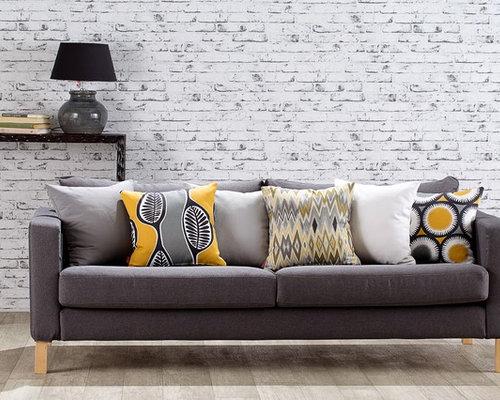 Living Room Decor - Ikea Karlanda Sofa Covers - Slipcovers And Chair Covers