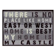 """""""My Home is My Castle"""" Easy-Clean Door Mat"""