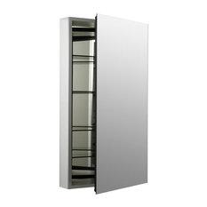 "Kohler K-2918-PG Catalan 20"" x 36"" Aluminum Single Door Medicine - Satin"