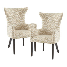 Madison Park Angelica Arm Dining Chair Set Of 2