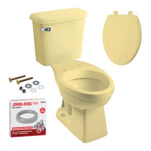 Peerless Pottery Madison Round Toilet Kit 12 Quot Rough 20