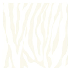 Zebbie Champagne Zebra Print Wallpaper, Bolt