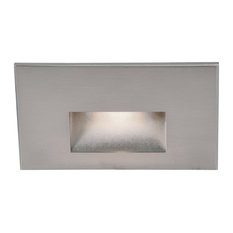 WAC Lighting LEDme Horrizontal Outdoor Step and Wall Light 277V, Stainless Steel