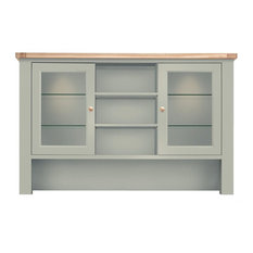 Bretagne Large Top Cabinet Unit for Welsh Dresser, Rockford Grey