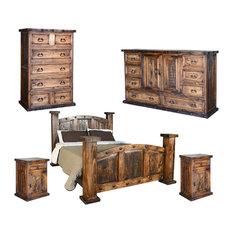 Unique Rustic Bedroom Furniture Sets Design Ideas