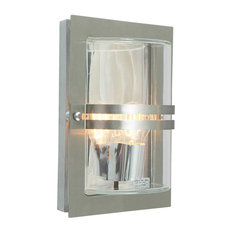 Basel Stainless Steel Wall Lantern