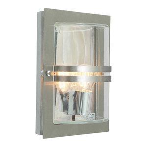 Basel Stainless Steel Wall Lantern