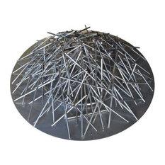 """NG 24""""x18"""" Stainless Steel Ring Nest Burner"""