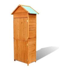 vidaXL Garden Wooden Cabinet Waterproof
