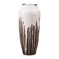 """Moes Home Collection QQ-1003 Randis 36-1/2"""" Tall Terracotta Decorative Vase"""