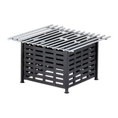 "12""x12"" Lattice Square Stand with Grill"