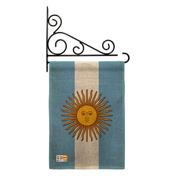 Breeze Decorargentina Flags Of The World Nationality Garden Flag Set Dailymail