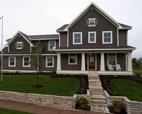 The woodward lakeville mn Sherwin williams brainstorm bronze exterior