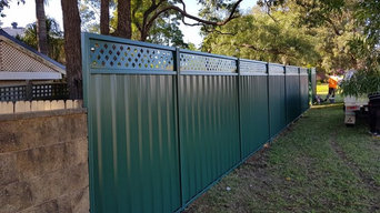 Colorbond fence installation