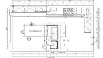 Extension et restructuration d'un espace cuisine