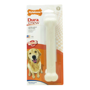 Nylabone NCF104P Giant Size Durable Chicken Flavored Bone