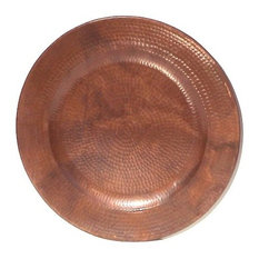 Hand Hammered Natural Copper Plate