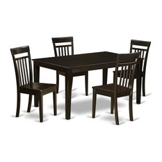 5-Piece Kitchen Table Set For 4 Set Kitchen Table And 4 Kitchen Dining Chairs