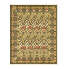 Traditional Stirling 8'x10' Rectangle Chestnut Area Rug