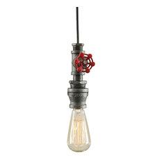 West Ninth Vintage Industrial Single Pendant Light