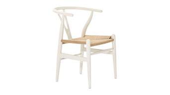 Weave Chair in White