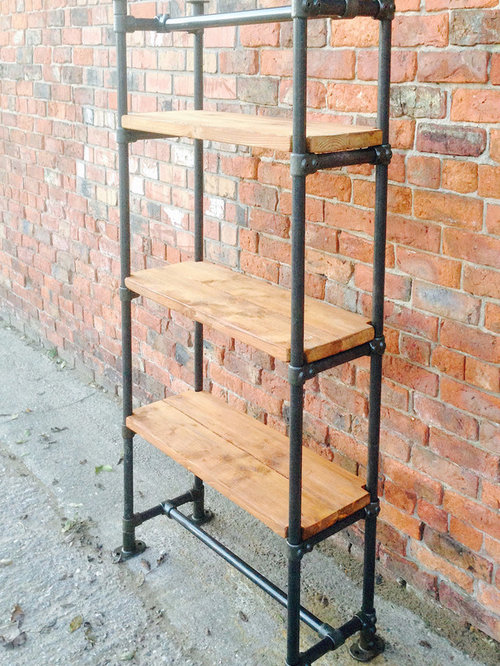 SaveEmail. Industrial Style Free Standing Scaffold ... - Industrial Style Free Standing Scaffold Shelving Unit