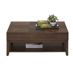 Progressive Daytona Double Lift Top Coffee Table, Regal Walnut