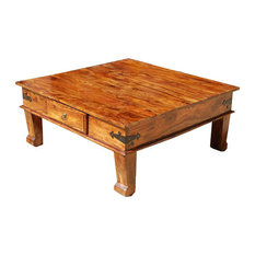 rustic western style coffee tables | houzz