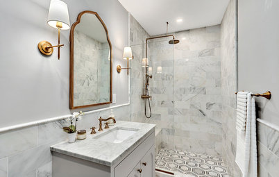 Bathroom of the Week: An Updated Take on Traditional