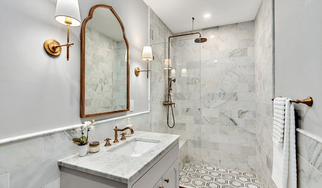 Before and After: 4 Bathrooms That Ditched the Tub