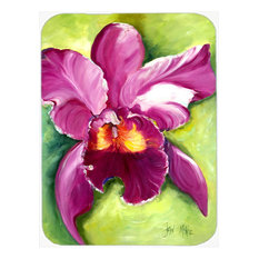 Orchid Glass Cutting Board, Large