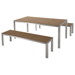 New Modern Outdoor Dining Sets by Velago Furniture Outlet