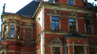 Beispiel zu Holz-Isofenster mit Rundbogen