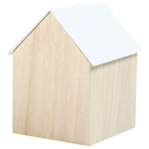 Block Storage House, White, Large
