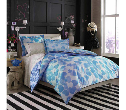 459007 6983 w422 h368 b0 p0  contemporary kids bedding Pink and Black Madison Girls Teen Bedding Queen Set