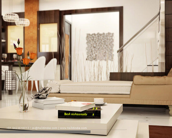 Luxury Apartment Interior Design Rendering By India