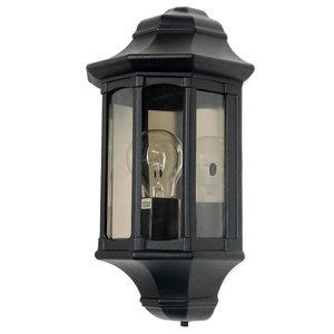 Newbury Half Lantern Outdoor Wall Light