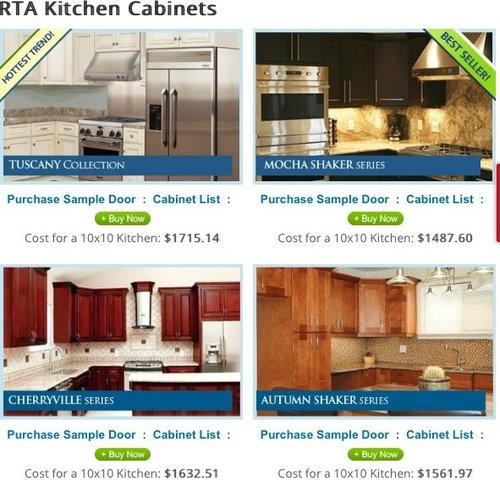 Anyone have a Preferred RTA Kitchen cabinet company?