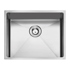 "Undermount Stainless Steel Kitchen Sink, 23"", Single Bowl"