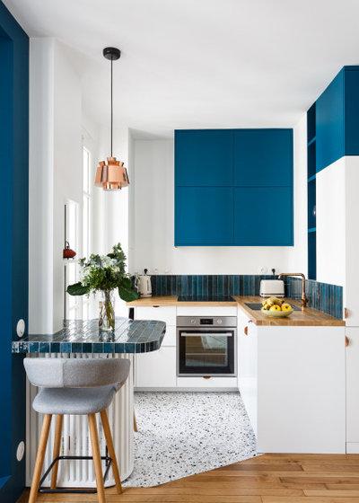 Современный Кухня by Emilie Melin architecte DPLG